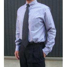 他の写真2: 【メンズ】ボタンダウンシャツ型紙(長袖、半袖付き)