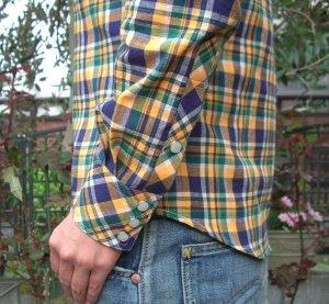 画像3: ウエスタンシャツ型紙(長袖・七分袖付き)