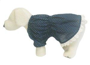 画像1: 犬服 チュニックワンピース型紙(小型犬から中型犬用)