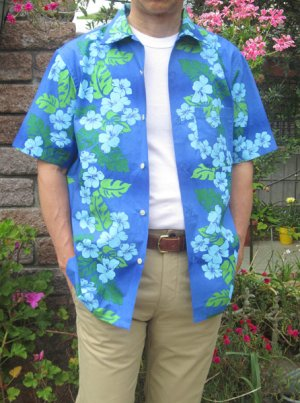 画像1: 【メンズ】オープンカラーシャツ(アロハシャツ)型紙