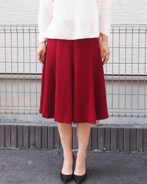 画像1: 8枚接ぎフレアスカート型紙(膝下丈)