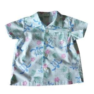 画像1: 【子供服】オープンカラーシャツ(アロハシャツ)型紙