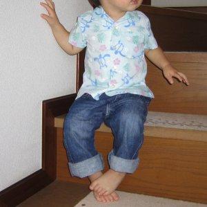 画像4: 【子供服】オープンカラーシャツ(アロハシャツ)型紙