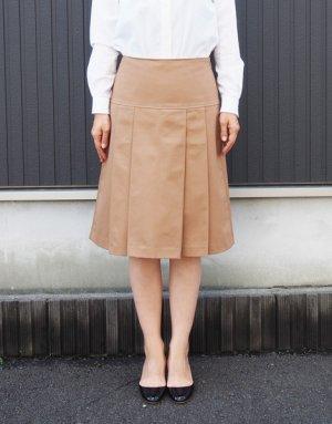 画像1: ヨーク切り替えプリーツスカート型紙