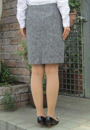 画像4: タイトスカート型紙