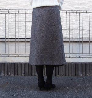 画像4: ミディアム丈ラップスカート型紙