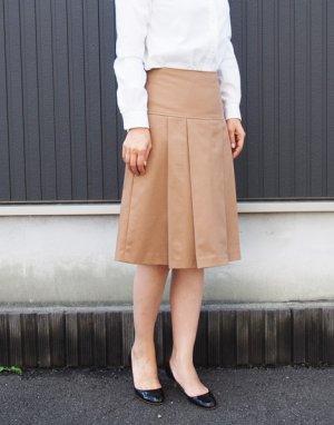 画像3: ヨーク切り替えプリーツスカート型紙