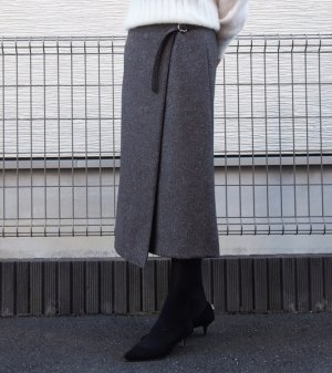 画像3: ミディアム丈ラップスカート型紙