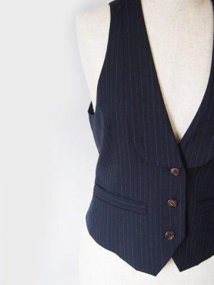 画像3: 衿付き3つ釦ベスト型紙