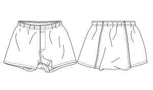 画像2: 【メンズ】トランクス型紙(ニット用)