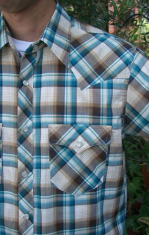 画像3: 【メンズ】ウエスタンシャツ型紙(長袖、半袖付き)