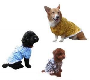 画像4: 犬服 チュニックワンピース型紙(小型犬から中型犬用)