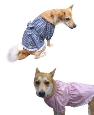 画像5: 犬服 チュニックワンピース型紙(小型犬から中型犬用)
