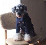 犬服 ピーコート型紙 小型犬〜中型犬用