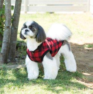 画像3: 犬服 前あきタンクトップ型紙 小型犬〜中型犬用