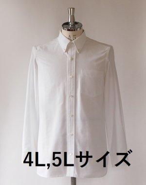 画像1: 【メンズ】4L,5Lサイズ ボタンダウンシャツ型紙(長袖、半袖付き)