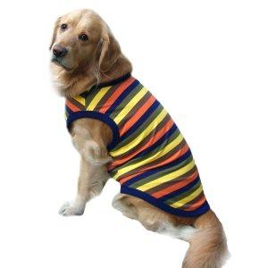 画像1: 犬服 タンクトップ型紙(リブ仕様) 大型犬用